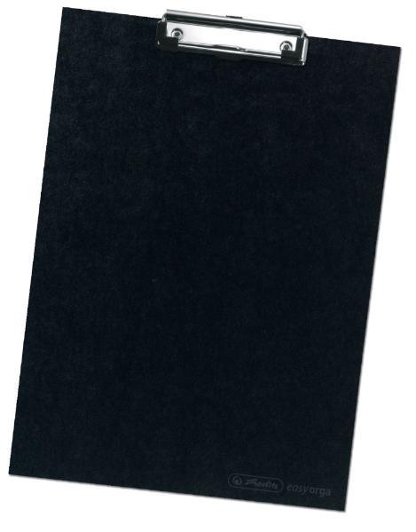herlitz Klemmbrett, DIN A4, schwarz