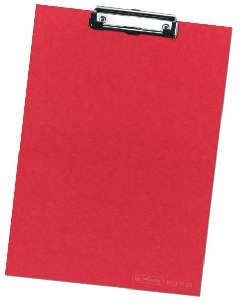 herlitz Klemmbrett, DIN A4, rot