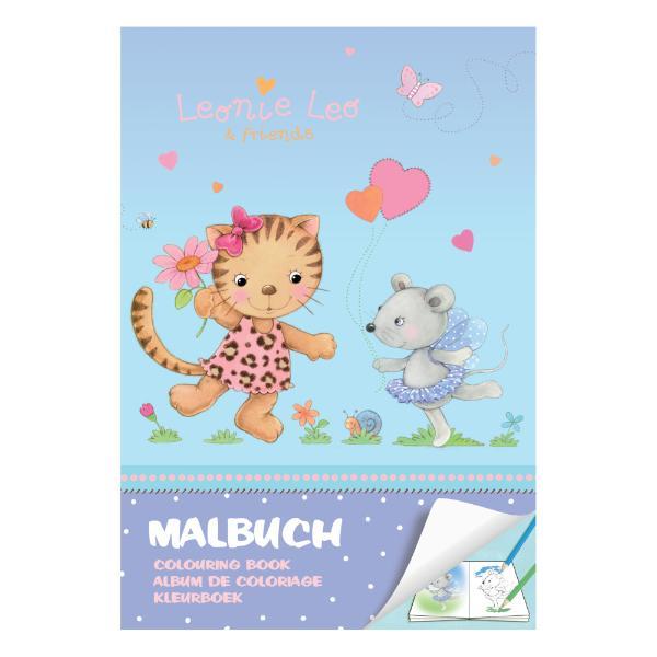 herlitz Malbuch Leonie Leo & friends DIN A4, 32 Seiten