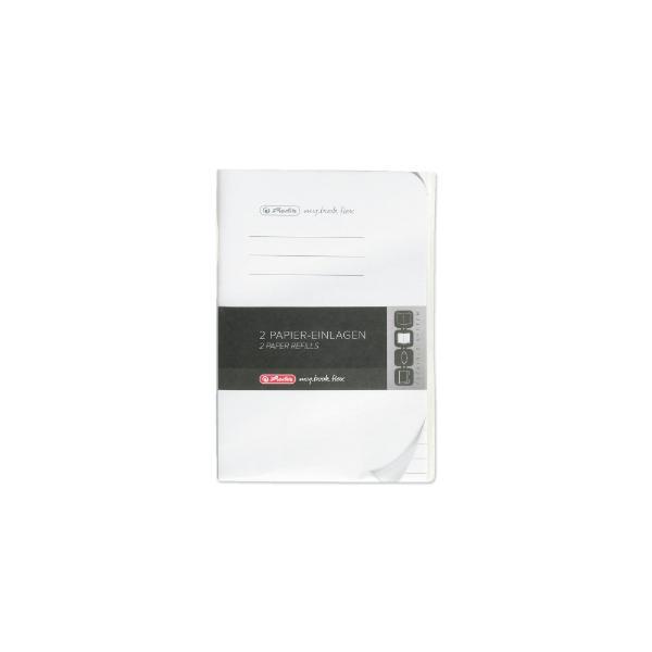 herlitz Papier-Ersatzeinlagen für Notizheft my.book flex...
