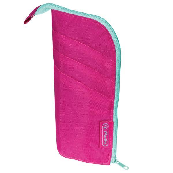herlitz Schlamper-Etui my.case, Farbe: pink