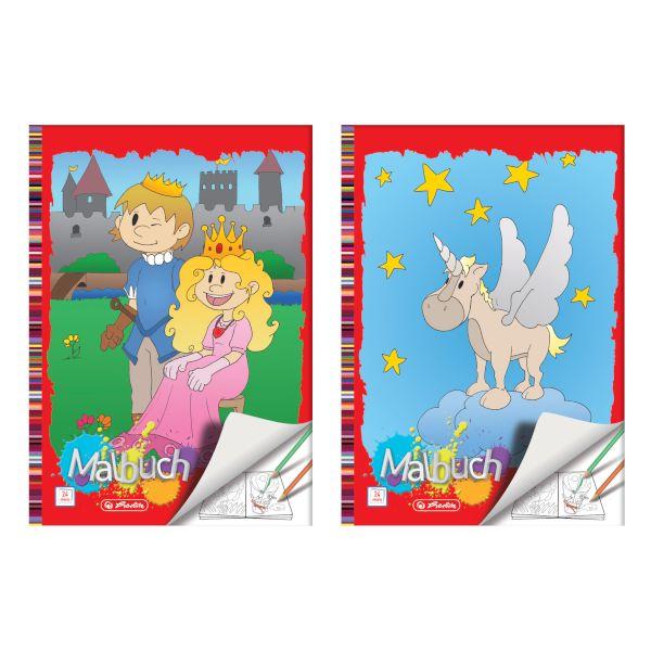 herlitz Malbuch DIN A4, 24 Seiten