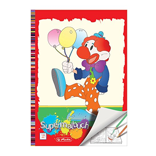 herlitz Super-Malbuch DIN A4, 128 Seiten