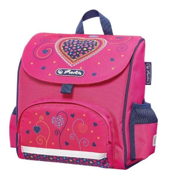 herlitz Vorschulranzen Mini Softbag Pink Hearts