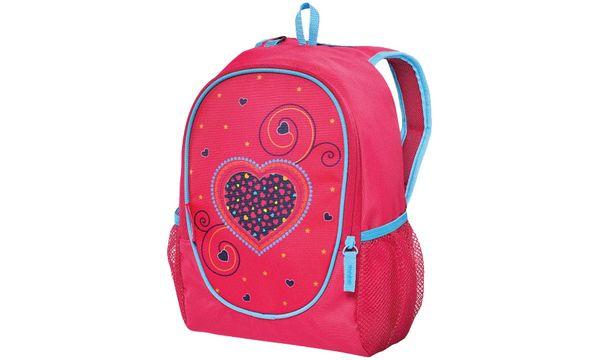 herlitz Vorschulruckack Rookie Pink Hearts