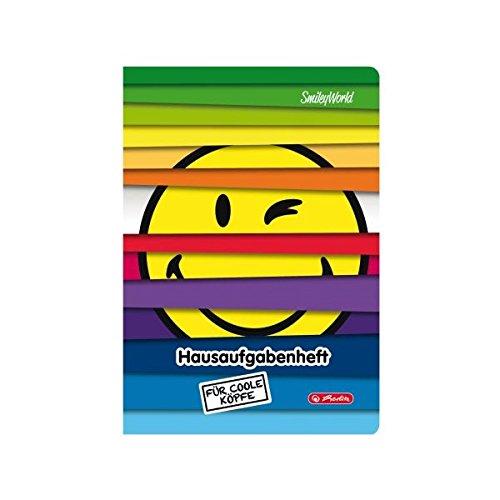 herlitz Hausaufgabenheft SmileyWorld Jalousie, DIN A5