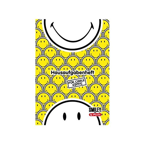 herlitz Hausaufgabenheft Smiley B&Y Faces, DIN A5