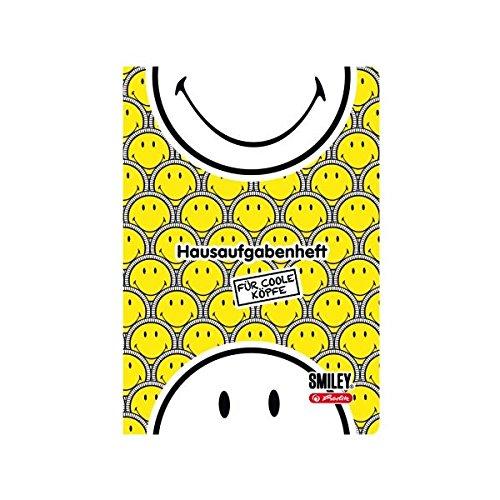 herlitz Hausaufgabenheft Smiley B&Y Faces, DIN A5