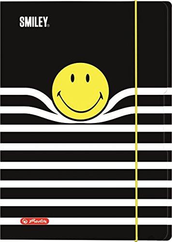 herlitz Zeichnungsmappe Smiley B&Y Stripes, DIN A4