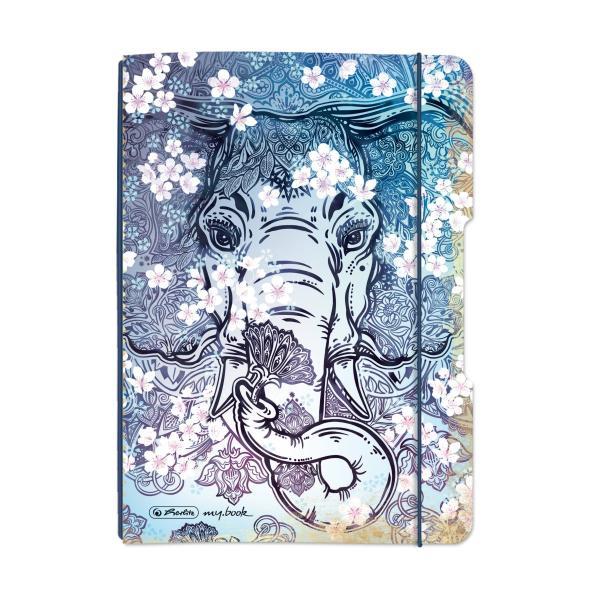 herlitz Schülerkalender my.book Flex Elefant, 2019/2020, A5