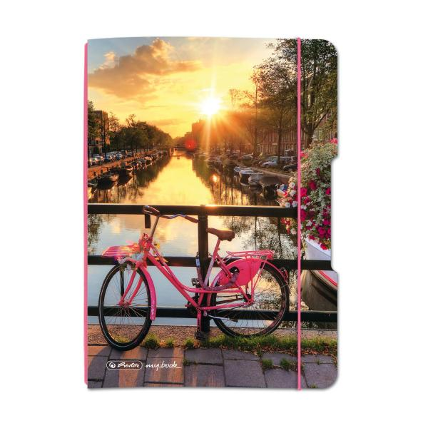 herlitz Schülerkalender my.book Flex Amsterdam, 2019/2020