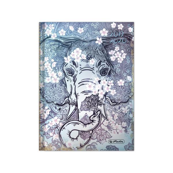 herlitz Schülerkalender Legend Elefant, 2019/2020, DIN A5