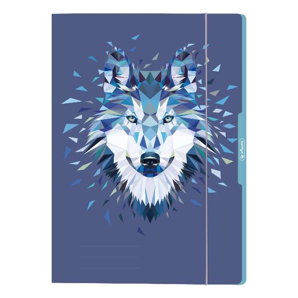 herlitz Zeichnungsmappe Wild Animals Wolf, DIN A4