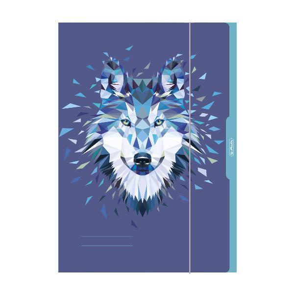 herlitz Zeichnungsmappe Wild Animals Wolf, A3