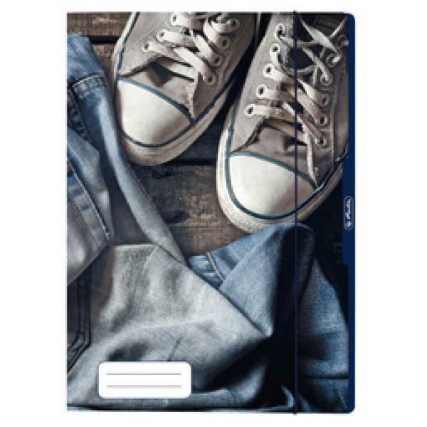 herlitz Zeichnungsmappe Jeans, DIN A4