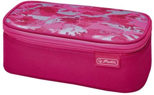 herlitz Schlamper-Etui be.bag BEATBOX Camouflage, pink