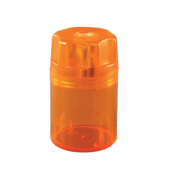 herlitz Spitzdose, aus Kunststoff, rund