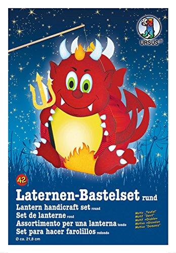 URSUS Laternen-Bastelset Teufel