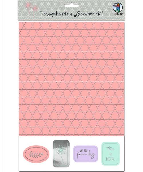 Ursus Designkarton Geometric