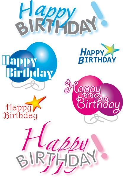 HERMA Sticker DECOR Happy Birthday
