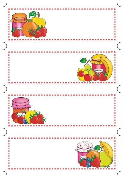 HERMA Haushalts-Etiketten Fruchtauswahl, 76 x 28 mm