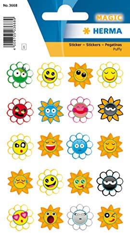 HERMA Sticker MAGIC Crazy Suns, Puffy