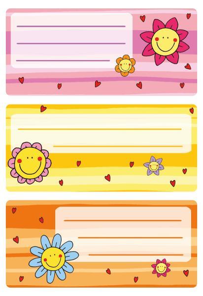 #10xBuchschild Blumengesichter
