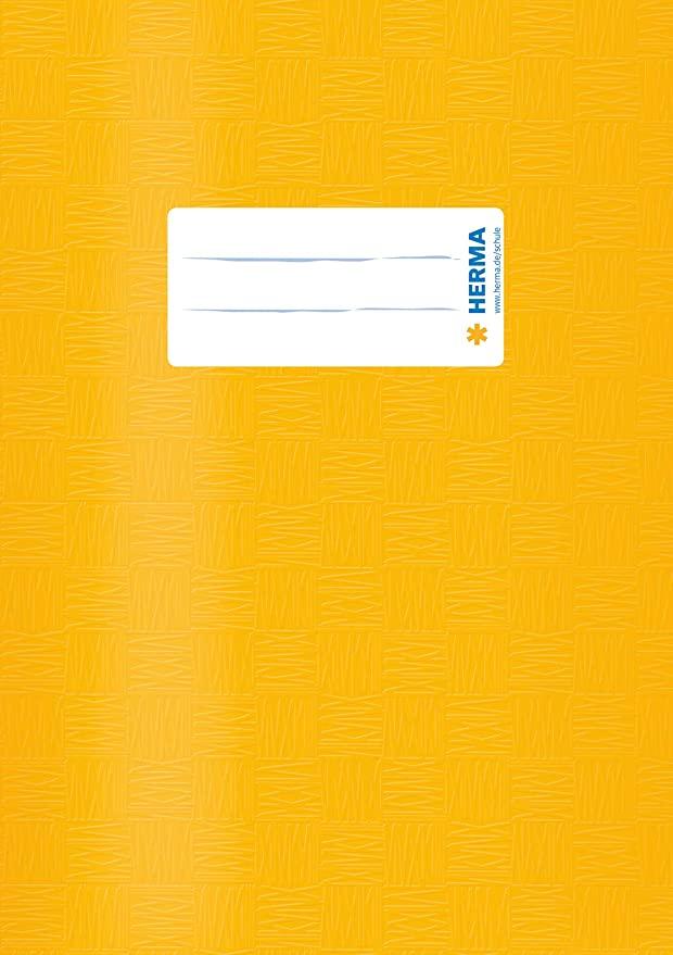 HERMA Heftschoner, DIN A5, aus PP, gelb gedeckt