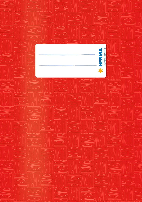 HERMA Heftschoner, DIN A5, aus PP, rot gedeckt