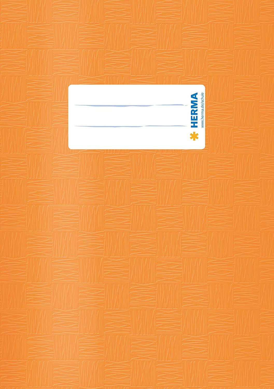 HERMA Heftschoner, DIN A5, aus PP, orange gedeckt