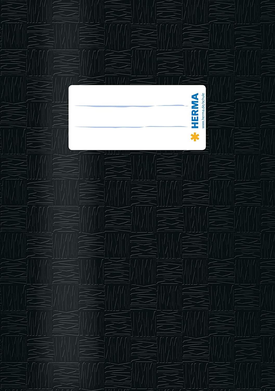 HERMA Heftschoner, DIN A5, aus PP, schwarz gedeckt