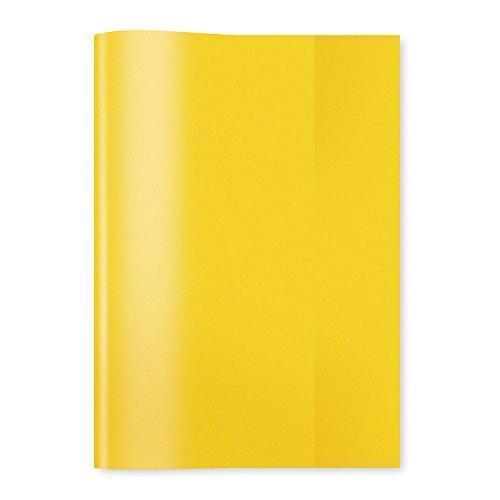 HERMA Heftschoner, DIN A5, aus PP, transparent-gelb