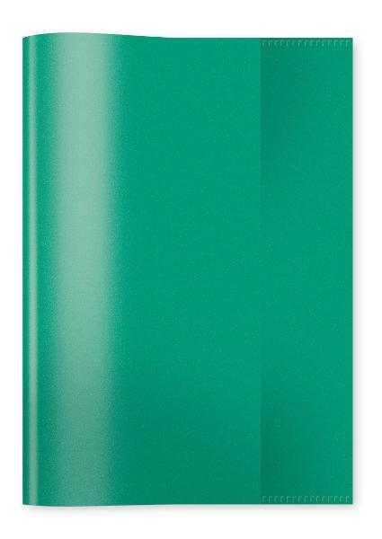 HERMA Heftschoner, DIN A5, aus PP, transparent-grün