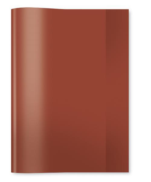HERMA Heftschoner, DIN A5, aus PP, transparent-braun