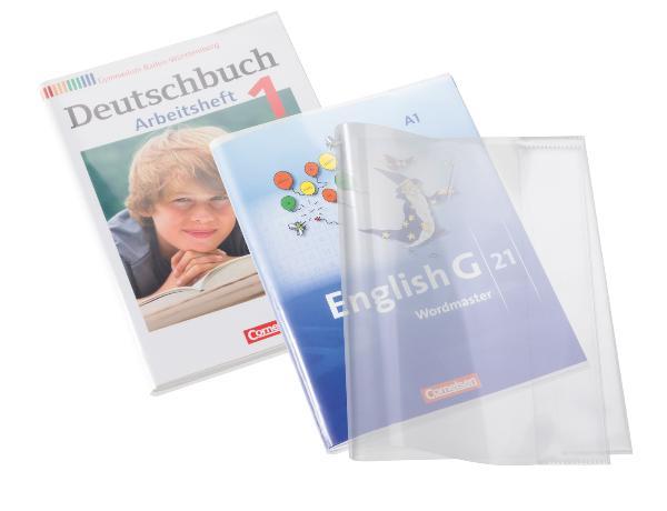 HERMA Buchschoner Workbook, aus PP, (B)431 x (H)300 mm