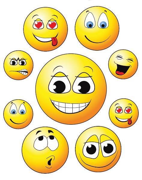 HERMA Fensterbild Happy Face, DIN A4