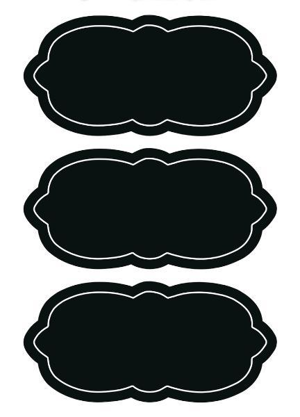 HERMA Tafel-Etiketten HOME feeling Wolke