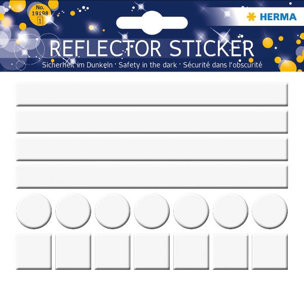 HERMA Reflektorsticker Neutral