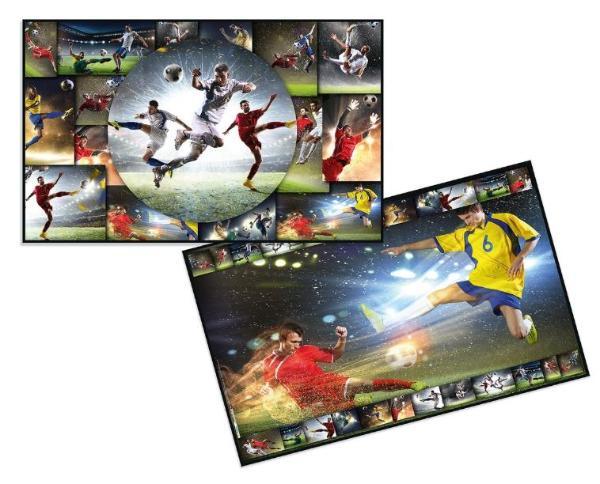 HERMA Schreibunterlage Fußball, (B)550 x (H)350 mm