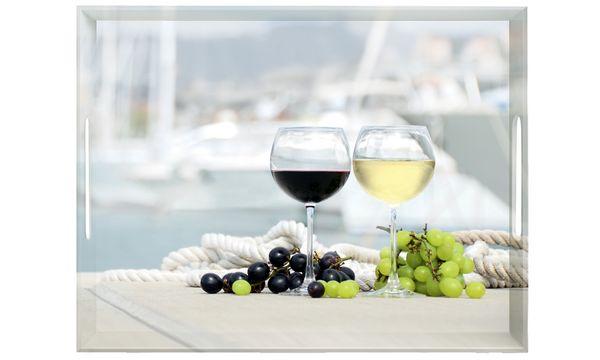 emsa Serviertablett CLASSIC, Motiv: Summer Wine, 400x310 mm