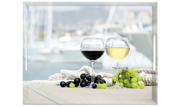 emsa Serviertablett CLASSIC, Motiv: Summer Wine, 500x370 m