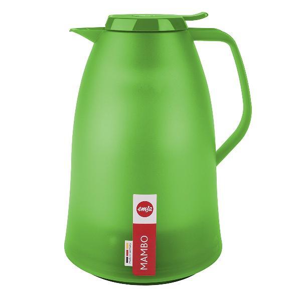 emsa Isolierkanne MAMBO 1,5 Liter hellgrün-transluzent Teekanne ...