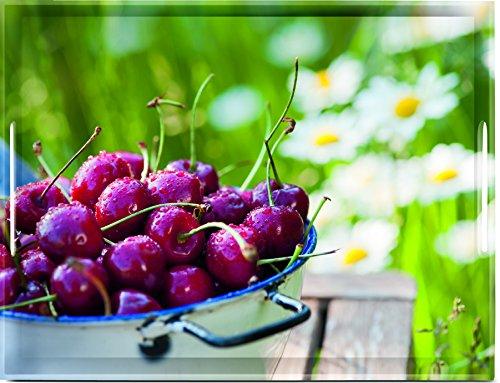 emsa Serviertablett CLASSIC, Motiv: Cherries, 400 x 310 mm