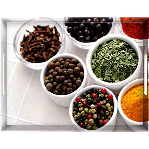 emsa Serviertablett CLASSIC, Motiv: Spices, 400 x 310 mm