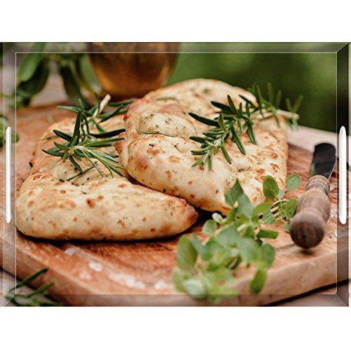 emsa Serviertablett CLASSIC, Motiv: Bread, 400 x 310 mm