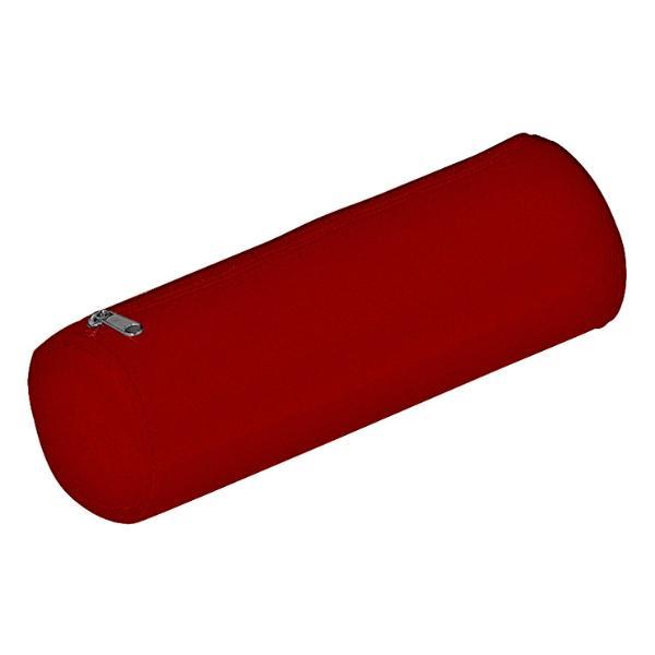 Schlampermäppchen Nylon Basic Colours rot 22x8x8cm
