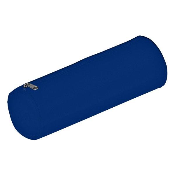 Schlampermäppchen Nylon Basic Colours dunkelblau 22x8x8cm