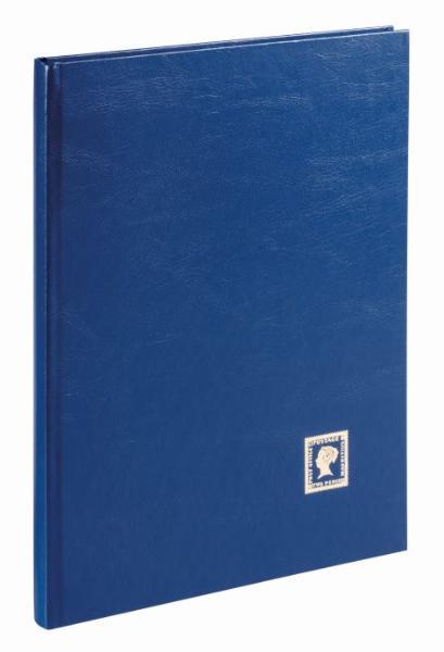 PAGNA Briefmarkenalbum, dunkelblau, DIN A4, 32 Seiten