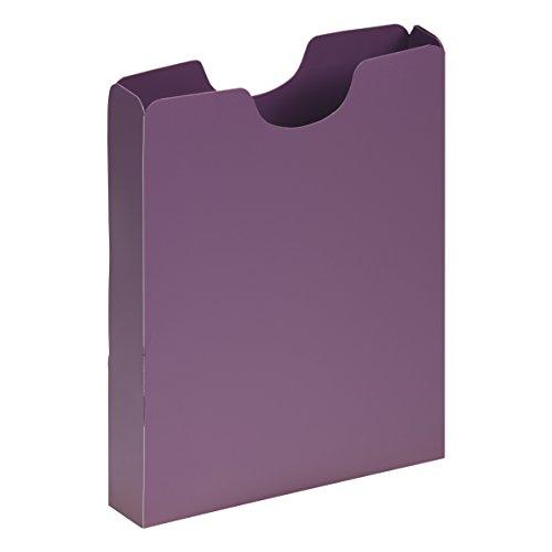 PAGNA Heftbox DIN A4, Hochformat, aus PP, lila