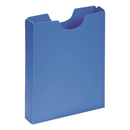 PAGNA Heftbox DIN A4, Hochformat, aus PP, hellblau